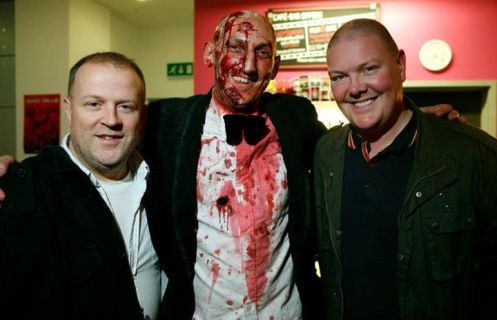 Zombie Ed and Celebrity pals